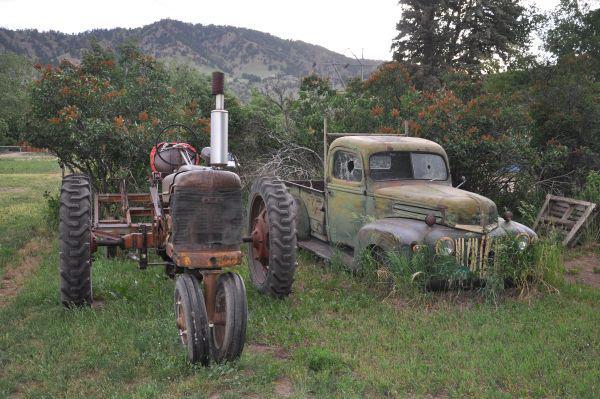 Recyclage de la ferraille agricole pour de l'argent